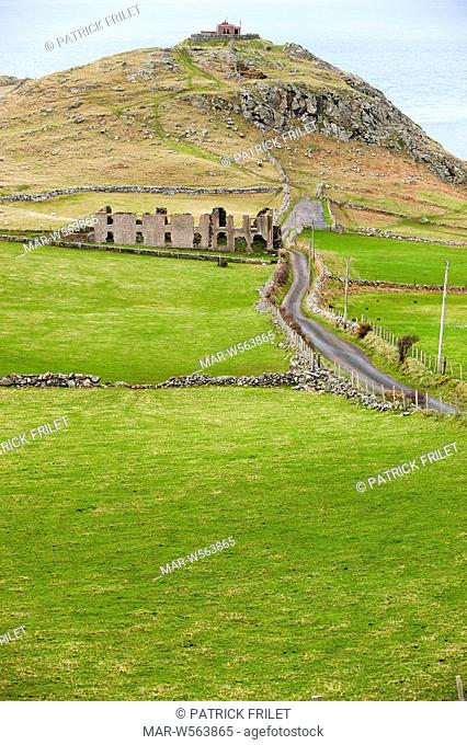 Torr Head near Ballycastle, antrim, Ireland