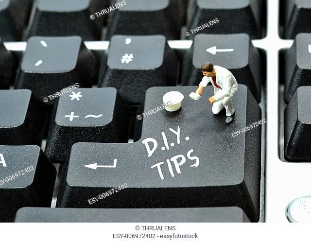 Do it yourself tips on keyboard return enter key button