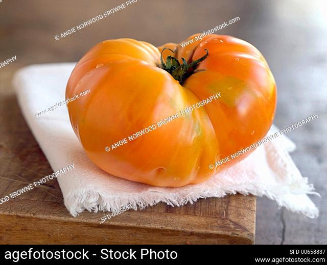 Large beefsteak tomato