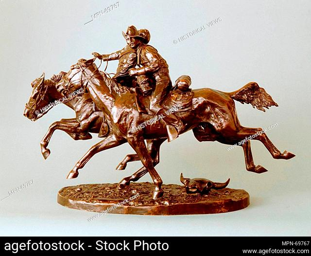 The Wounded Bunkie. Artist: Frederic Remington (American, Canton, New York 1861-1909 Ridgefield, Connecticut); Date: 1896