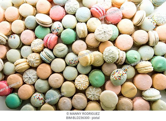 Pile of macaroons