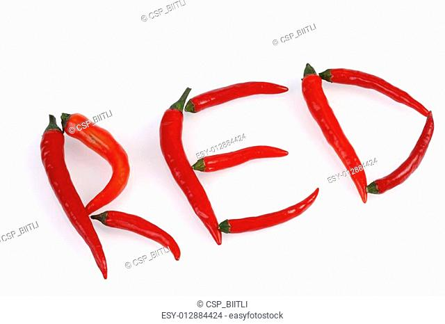 red hot chilis