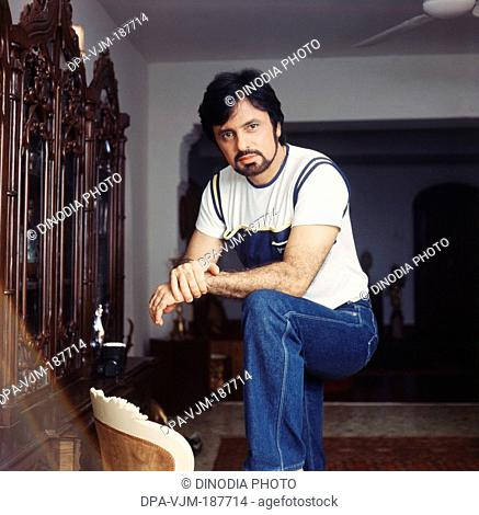 1984, Portrait of Indian film producer, director and actor Sanjay Khan