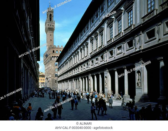 Florence. Uffizi Gallery, shot 1997 by Tatge, George for Alinari