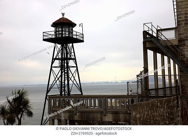 Alcatraz Island and Prison, San Francisco, California, USA