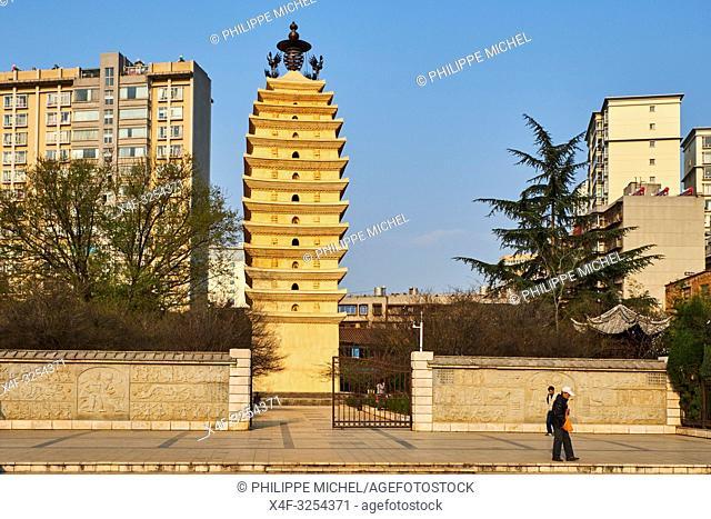 China, Yunnan, Kunming, West pagoda