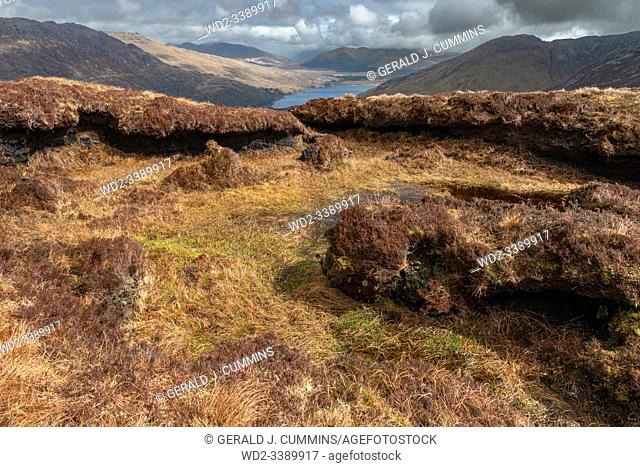 Ireland, Galway, 2016 Connemara National park 2000 hectars of bog and mountains