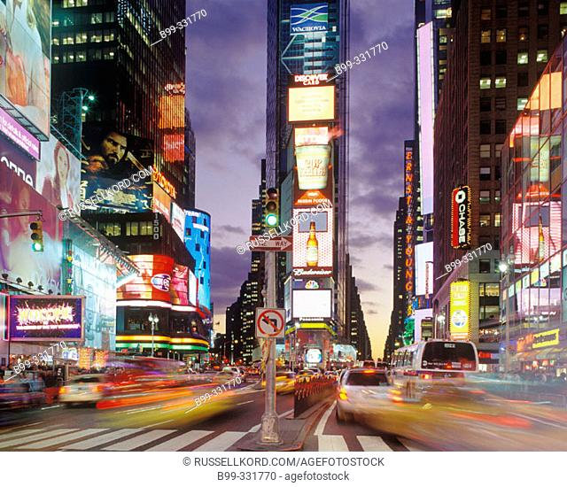 Times Square, Midtown Manhattan. New York City, USA