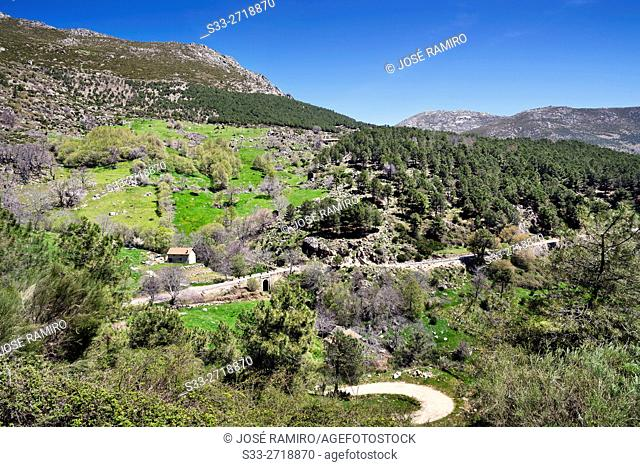 The Horcajo in the Sierra de Gredos. Mijares. Avila. Castilla Leon. Spain. Europe