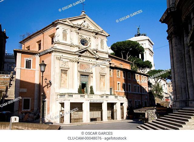 Church of St. Joseph of the Carpenters, Rome, Lazio, Italy, Western Europe