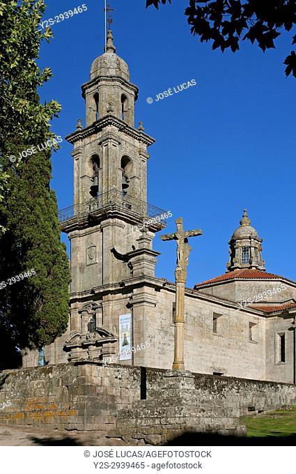 Church of San Benito (18thcentury), Allariz, Orense province, Region of Galicia, Spain, Europe