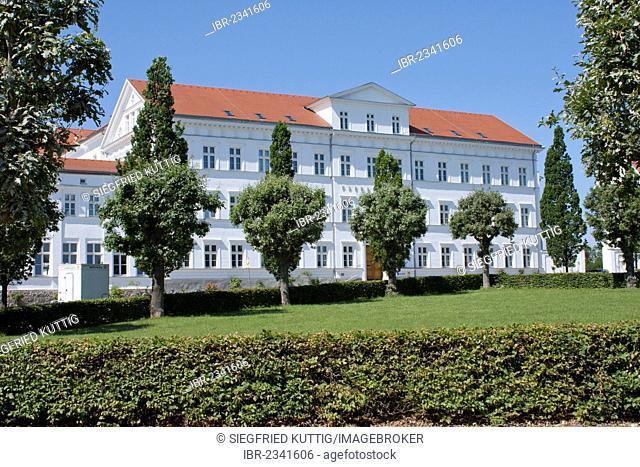 Paedagogium, educational venue, Putbus, Ruegen Island, Mecklenburg-Western Pomerania, Germany, Europe