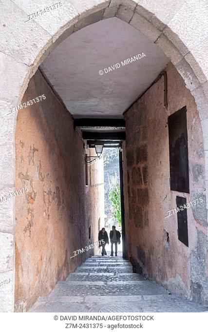 Passage. City of Cuenca (UNESCO World Heritage Site), Castile-La Mancha, Spain