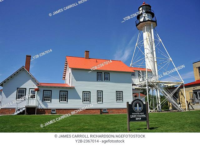 Whitefish Point Lighthouse Upper Peninsula Michigan