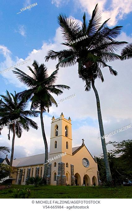 Church in North Mahe', Seychelles