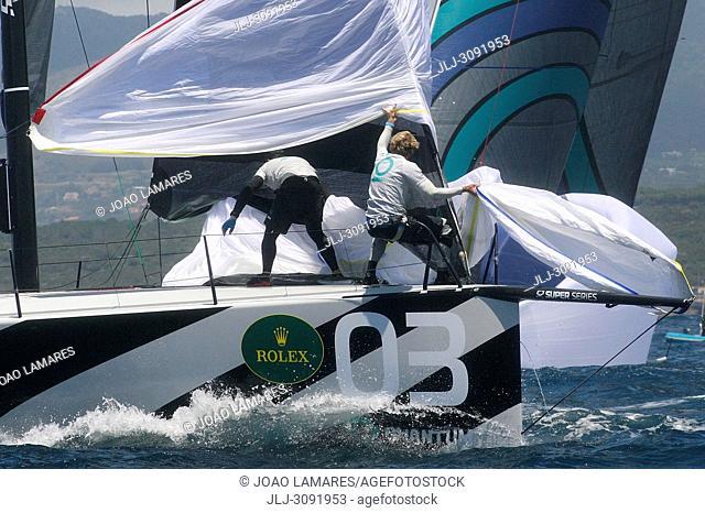 Quantum Racing, #03, Owner: Doug DeVos, Sail nr: USA52015, Yacht Club Macatawa Bay YC, Builder: Longitude Cero composites S.L