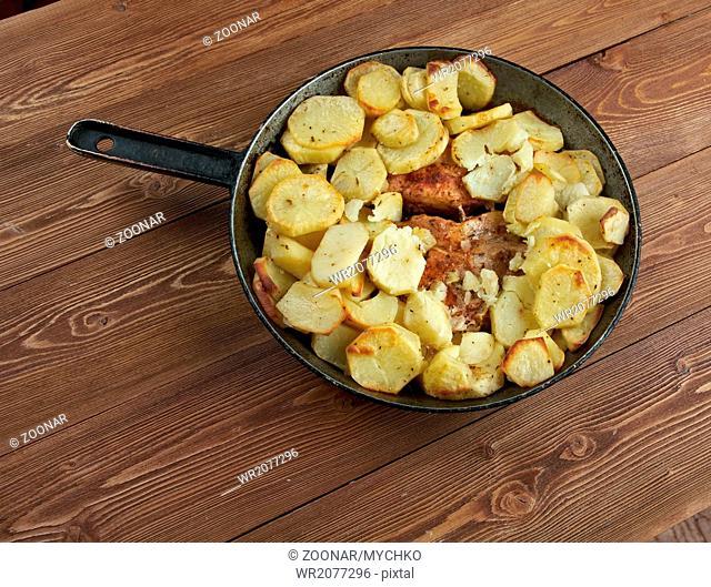 Pork baked Loins