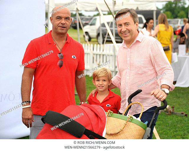 Bridgehampton Polo Club's 18th Anniversary Season sponsored by Town & Country Magazine held at Two Trees Farm - Opening Day Featuring: Gerome Bocuse,Paul Bocuse