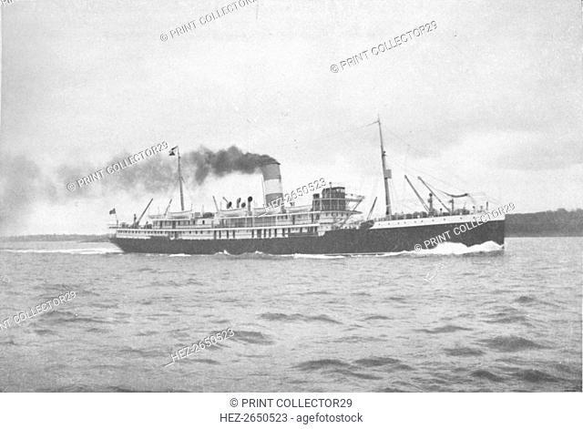 'The Brazilian Lloyd, SS Para., 1914. Artist: Unknown