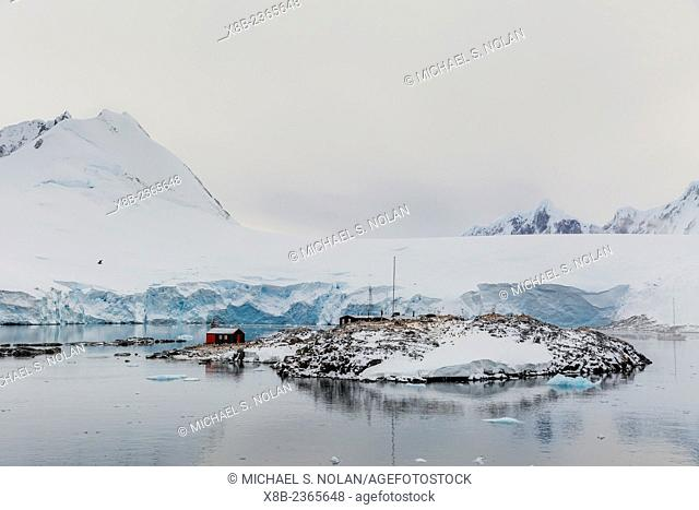British Base A at Port Lockroy, on the western side of the Antarctic Peninsula, Antarctica