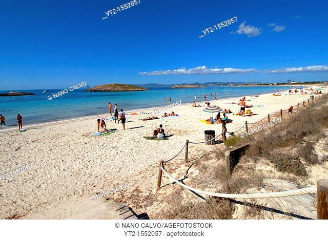 Illetes beach, Formentera