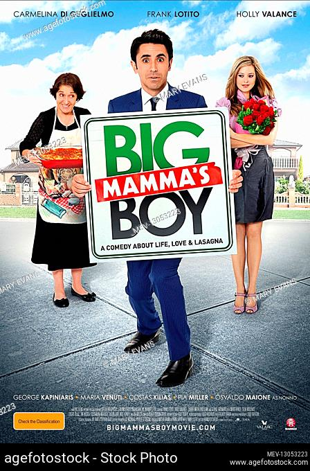 Carmelina Di Guglielmo, Frank Lotito & Holly Valance Poster Characters: Mamma, Rocco, Katie Film: Big Mamma'S Boy (2011) Director: Franco Di Chiera 28 July 2011