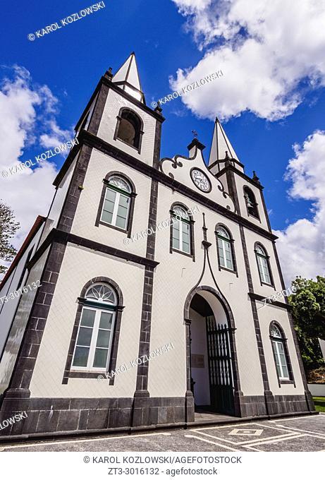 Church of Santa Maria Madalena, Madalena, Pico Island, Azores, Portugal