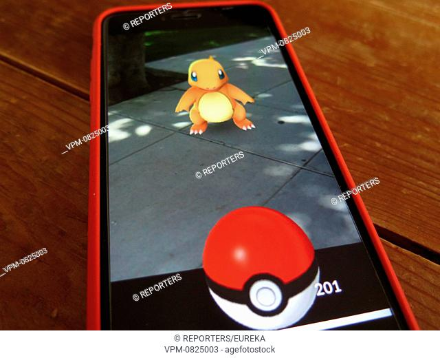 ;Pokemon go;jeu de realite augmentee; Reporters / EUREKA