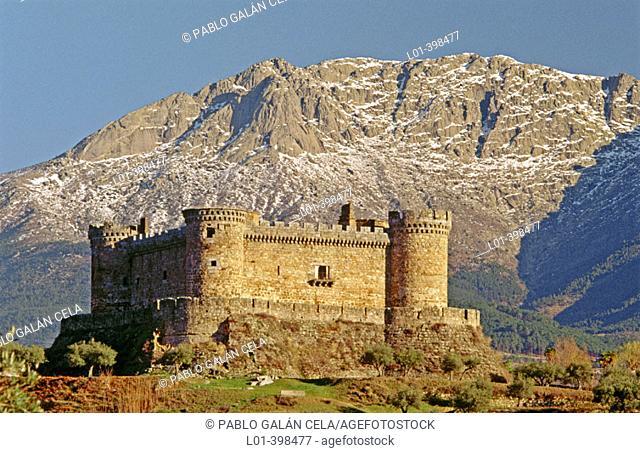Castle, Mombeltrán. Sierra de Gredos. Ávila province. Spain