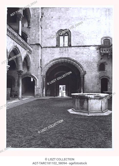 Lazio Viterbo Tarquinia Palazzo Vitelleschi, this is my Italy, the italian country of visual history, Exterior views of Palazzo and museum as well as interior...