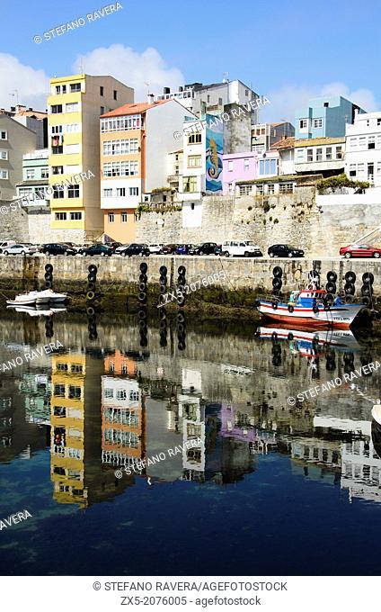 The harbour of Malpica de Bergantiños - Galicia, Spain