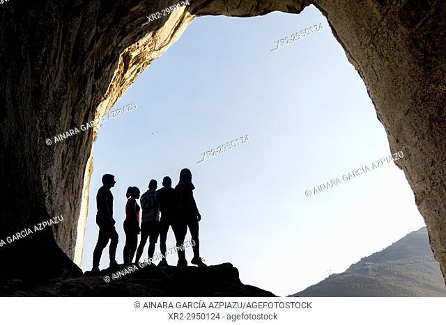 Aitzulo cave, Araotz, Basque Country