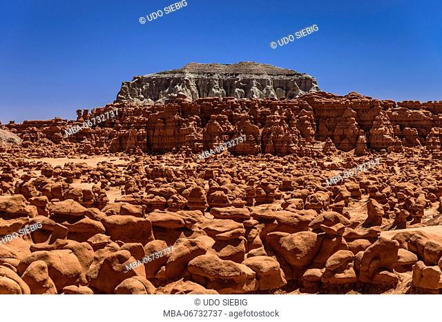 The USA, Utah, Emery County, Green River, Goblin Valley State Park, Goblins