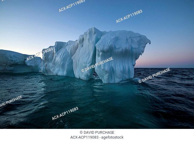 Iceberg run aground just outside St. John's, Newfoundland and Labrador