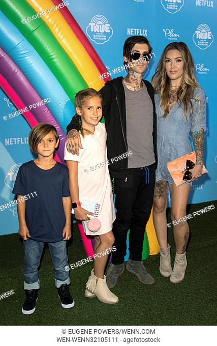 Netflix original series 'True and the Rainbow Kingdom' - Photocall Featuring: Casey Loza Where: Los Angeles, California, United States When: 10 Aug 2017 Credit:...