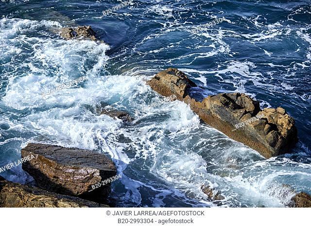 Santa Clara Island, Donostia, San Sebastian, Gipuzkoa, Basque Country, Spain, Europe