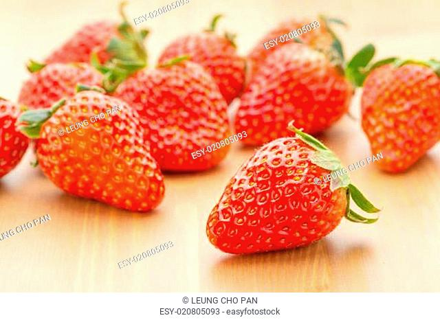 Group of strawberry