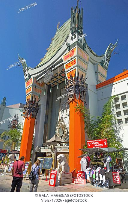 TCL CHINESE THEATER HOLLYWOOD BOULEVARD LOS ANGELES CALIFORNIA USA