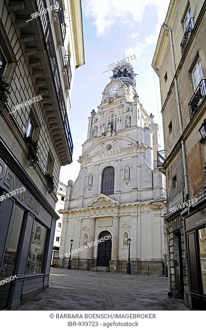 Sainte Croix Church, Nantes, Pays de la Loire, France, Europe