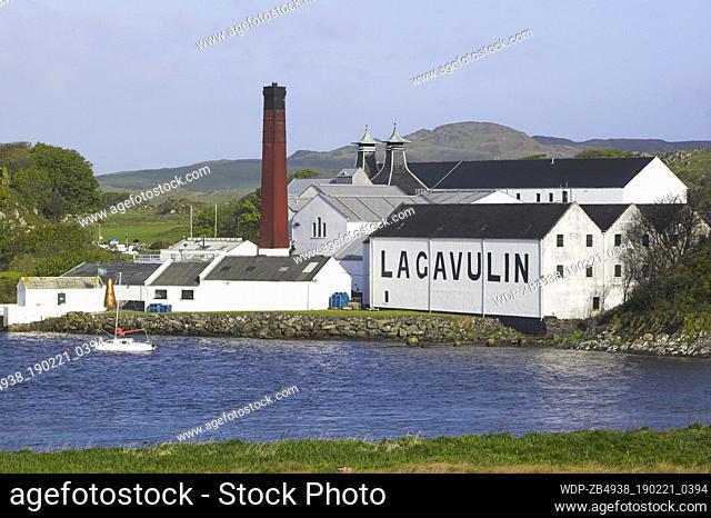 Lagavulin Distillery, near Port Ellen, Isle of Islay, Argyll and Bute
