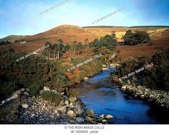 Cloghoge River near Lough Dan, Co Wicklow, Ireland