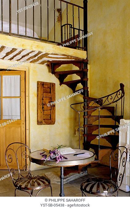 Hotel, Mas, Gordes, Provence, France