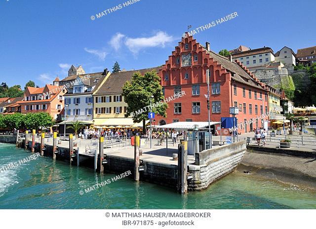 Meerburg banks on Lake Constance, Baden-Wuerttemberg, Germany, Europe