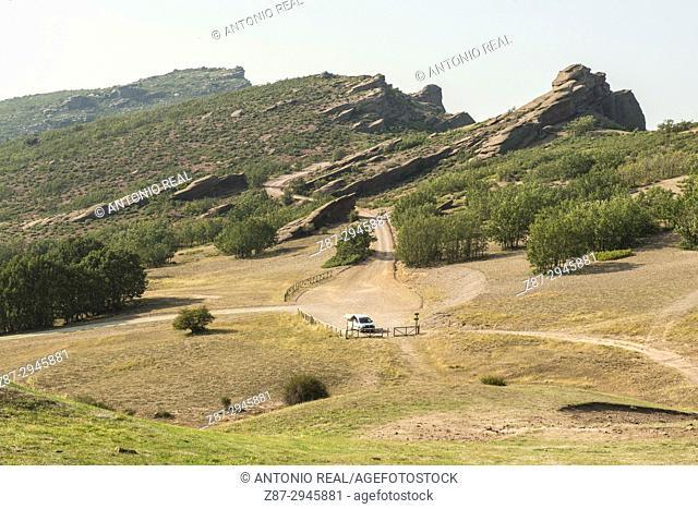 Monumento Natural Sierra de Caldereros y Geoparque Molina Alto Tajo. Campillo de Dueñas. Guadalajara province, Castile-La Mancha, Spain