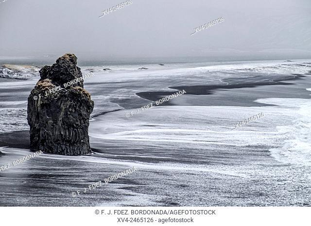 Dyrholaey coastline, Iceland