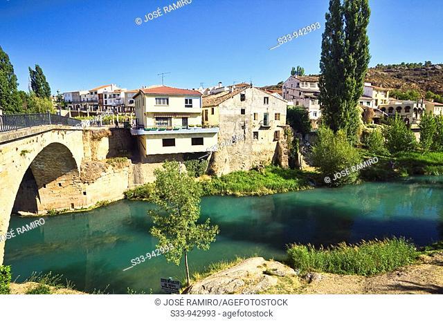 Trillo y el rio Tajo  Guadalajara. Castile-La Mancha, Spain