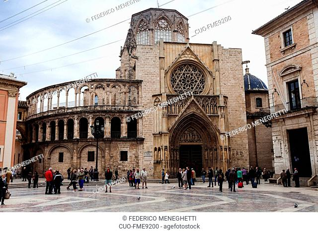 Metropolitan Cathedral Basilica of the Assumption of Our Lady of Valencia, Valencia, Spain , Europe