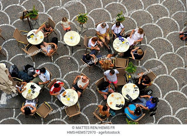 Italy, Campania, Amalfi Coast, listed as World Heritage by UNESCO, Astrani