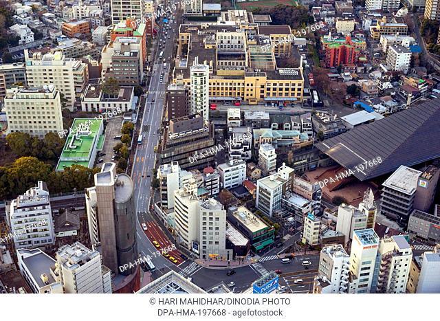 High rise, tokyo, japan
