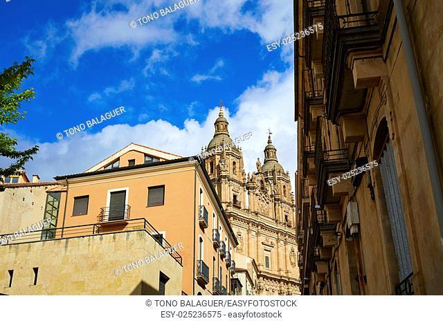 Salamanca Clerecia church in Spain by the via de la Plata way to Santiago